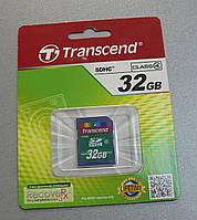 Карта памяти SDHC Transcend 32Gb class 4