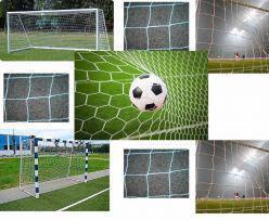 Сетки для футбольных ворот (7,32х2,44)