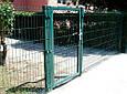 Ворота распашные и калитки из сварной сетки, фото 2