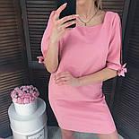 Женское прямое однотонное платье (2 цвета), фото 6