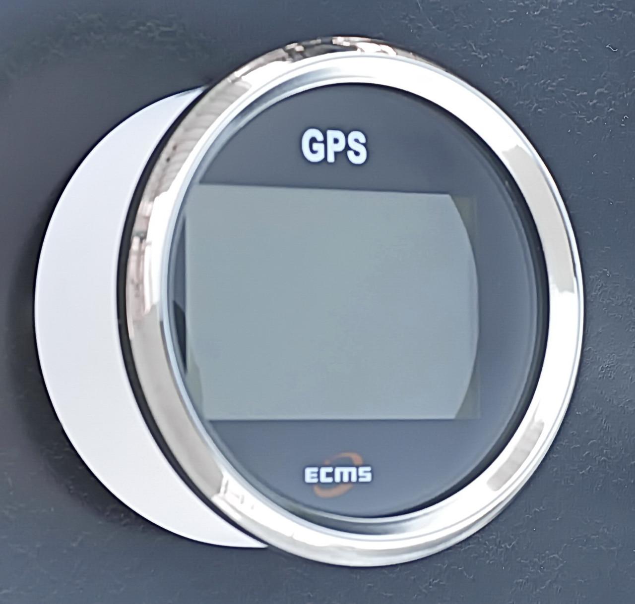 GPS спідометр для човни, катери, яхти мультиекран ECMS чорний 900-00034