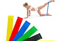 Резинки для фитнеса ленты сопротивления фитнес резинки эспандеры набор 5 штук с сумкой Fitness gum expanders