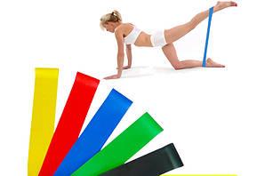 Резинки для фитнеса С СУМКОЙ набор 5 штук ленты сопротивления фитнес резинки эспандеры Fitness gum expanders