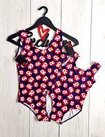 Комплект купальников для мамочки и дочки, фото 1