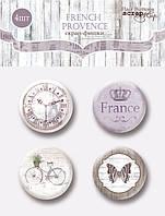 Набор скрап-фишек для скрапбукинга 4шт отScrapmirFrench Provence