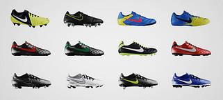 Футбольные бутси Nike