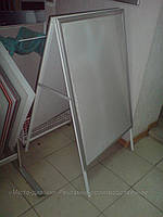 Штендер-раскладушка с клик-системой А1