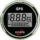Спидометр GPS с компасом для лодки, катера, яхты ECMS черный, фото 2