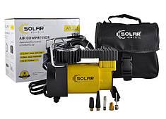 Компрессор для авто Solar 37 л/мин 12 В подкачивает шины R13-R16 (AR203)