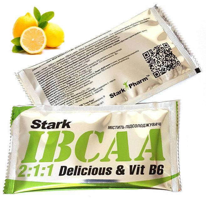 (Пробник) Stark Pharm - IBCAA 2-1-1 (6,25 гр) лимон