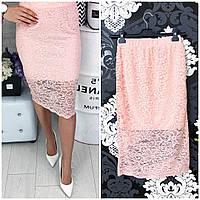 Женская юбка гипюр 42-48