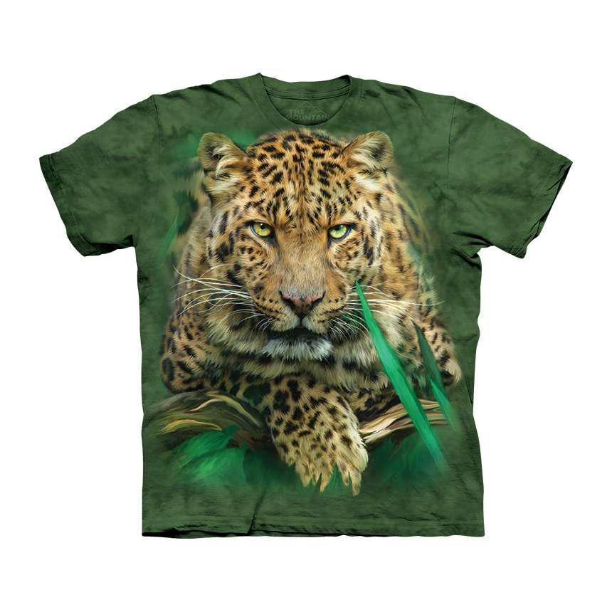 3D футболка для мальчика The Mountain р.M 7-10 лет футболки детские с 3д рисунком (Величественный Леопард)