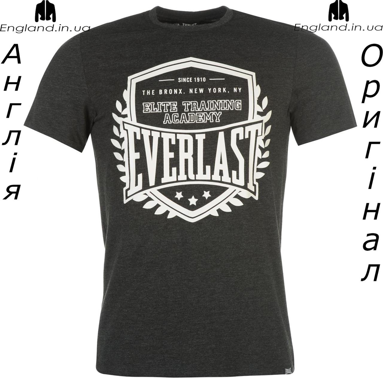 Футболка Everlast мужская коричневая для тренировок
