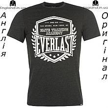 Футболка Everlast мужская коричневая для тренировок | Футболка Everlast чоловіча коричнева
