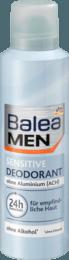 Дезодорант спрей BALEA Men Sensitive