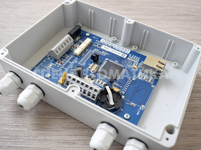 Контроллер высокого уровня KB-02NET (в пластиковом корпусе)