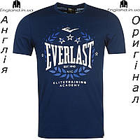 Футболка Everlast мужская темносиняя для тренировок из Англии
