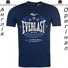 Футболка Everlast мужская темносиняя для тренировок