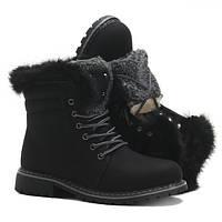Черные трекинговые женские ботинки 2BP1d A618 BLACK 37,38,39,40,41