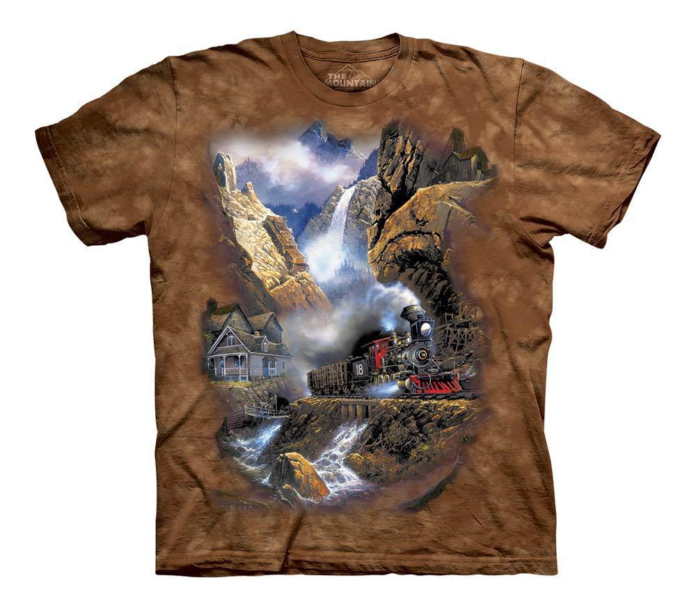 3D футболка для мальчика The Mountain р.XL 13-15 лет футболки детские 3д принтом рисунком (Рейс к Пандоре)