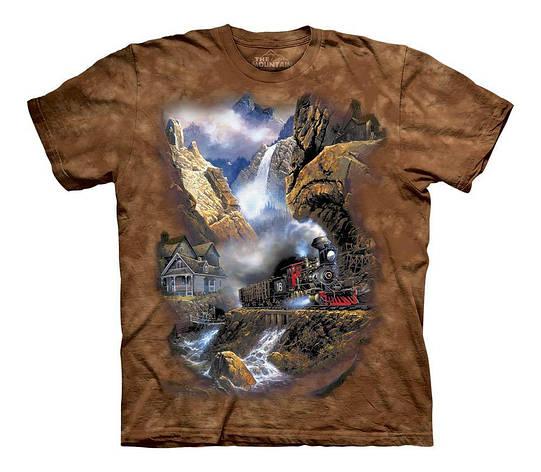 3D футболка для мальчика The Mountain р.XL 13-15 лет футболки детские 3д принтом рисунком (Рейс к Пандоре), фото 2
