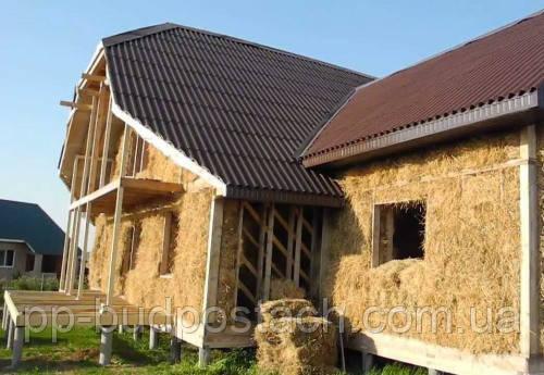 Досвід будівництва будинкуДІМ з саману.