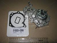 Помпа воды 1.2 16V D4F CLIO/SYMBOL (1998-2008) (производство Metelli) (арт. 24-0983), AEHZX