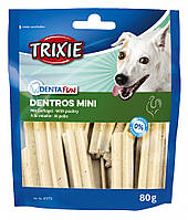 "Лакомство для собак ""Dentros Mini"" с домашней птицей 80г, Trixie™"