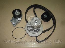Водяной насос + комплект зубчатого ремня CHEVROLET LACETTI 1.6 (производство Metelli) (арт. 30-0696-1), AGHZX