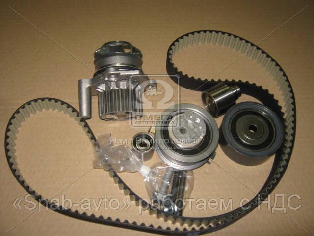 Водяной насос + комплект зубчатого ремня Volkswagen Transporter T5 2003-2015 1,6-2,0TDI (производство Metelli) (арт. 30-1089-1), AHHZX