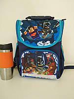 Рюкзак для первоклассника с ортопедической спинкой и героями мультфильма Ninjago