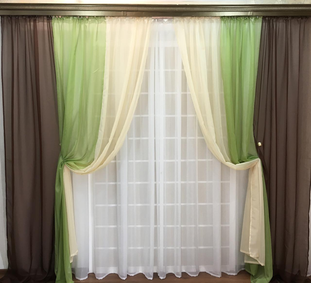 красивые шторы из шифона фото памяти нарисованные