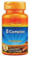 Thompson B Complex Plus Rice Bran 60 tab