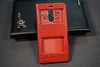 Чехол книжка для Xiaomi Redmi Note 3 Ксиоми Сяоми Ноут Ноте 3 цвет красный