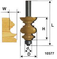 Фреза кромочная фигурная ф38.1х38, хв.12мм (арт.10577)