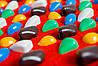 Массажный коврик с цветными камнями 100х40 см, фото 4