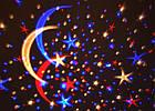 Светодиодный ночник проектор Звездного неба, фото 3