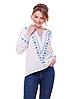 """Блуза з вишивкою натуральний льон """"Желана"""" розміри в наявності"""