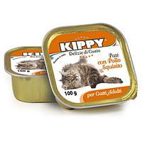Консервы Kippy для котов с курицей 0.1 кг