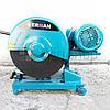 Отрезная пила по металлу 380 В, 400 мм, Erman EM CM 107, монтажная пила по металлу трехфазная, металлорез, фото 2
