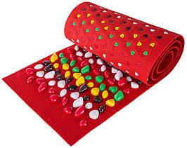 Массажный коврик «ОРТОПЕД» с камнями 100х40 см