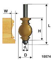 Фреза кромочная фигурная ф25.4х35, хв.12мм (арт.10574)