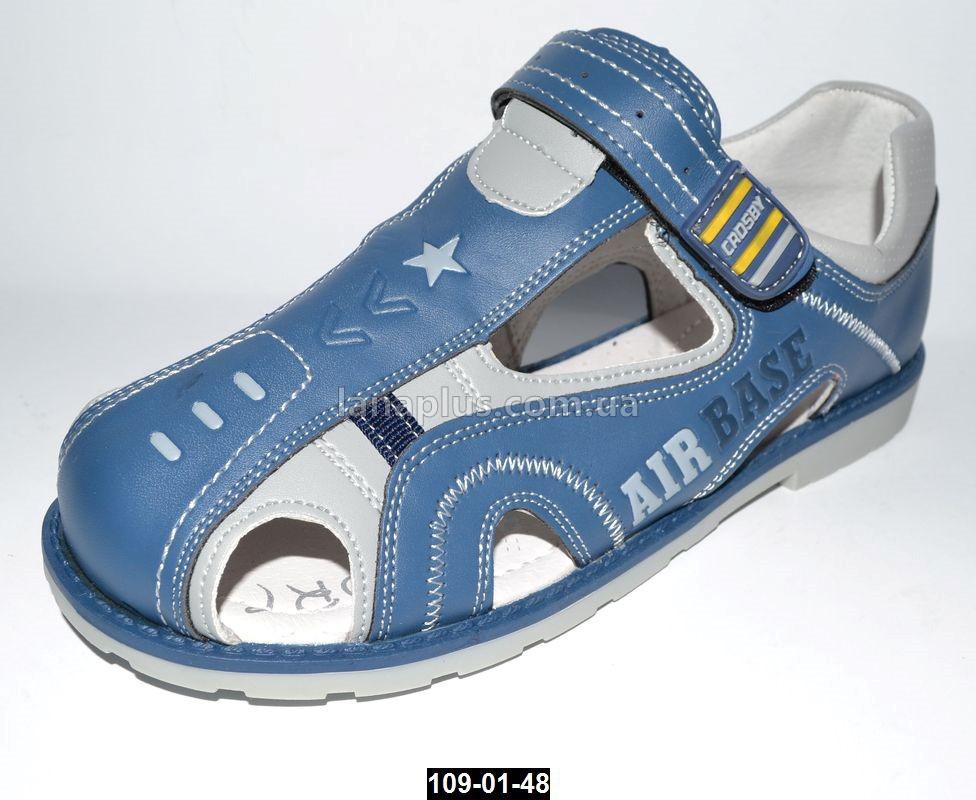 Ортопедические босоножки для мальчика Том.m, 34-35 размер, каблук Томаса, супинатор