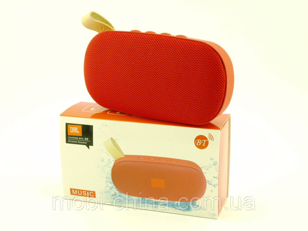 JBL Charge mini G5 6W копія, колонка з Bluetooth MP3 FM, червона