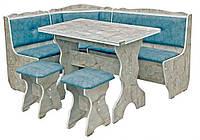 Кухонный уголок «Президент»  с нераскладнымстоломи двумя табуретами