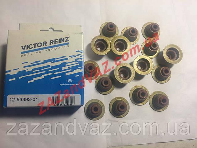 Сальники клапанов Ланос Lanos 1.6 Victor Reinz комплект 16 шт. Germany 12-53393-01