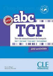 ABC TCF Livre + CD audio (учебник по французскому языку для подготовки к экзаменам с диском)