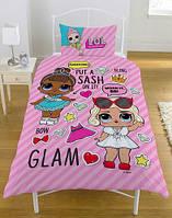 Детское постельное белье L.O.L. ЛОЛ полуторный комплект для девочки