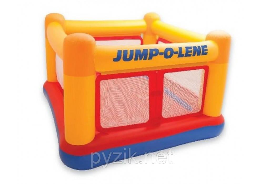 Детский надувной батут-игровой центр Intex Jump-O-Lene, 174 х 174 х 112 см