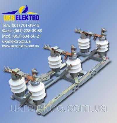 Разъединитель РЛНДз-10/630 УХЛ1 наружной установки поворотного типа